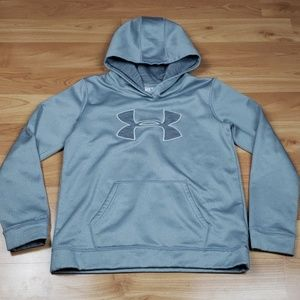 Under Armour Shirts & Tops - Under Armour Cold Gear Hooded Sweatshirt
